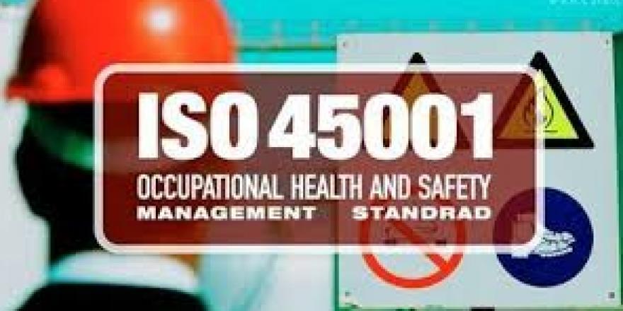 سيستم مديريت ايمنی و بهداشت حرفهای  ISO 45001:2018